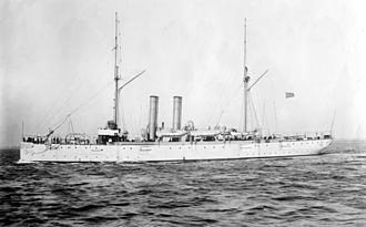 USS Cleveland (C-19) - USS Cleveland