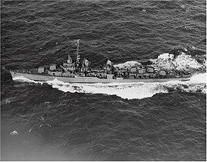 USS Conner (DD-582) underway at sea, circa in 1944 (80-G-276724)