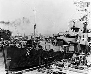 USS <i>Deede</i> Evarts-class destroyer escort