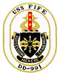 http://upload.wikimedia.org/wikipedia/commons/thumb/3/3f/USS_FIFE_%28DD-991%29_Crest.jpg/200px-USS_FIFE_%28DD-991%29_Crest.jpg