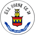 USS Horne (CG-30) insignia, 1990.png