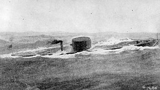 USS Monitor - Image: USS Monitor at sea