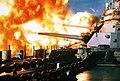 USS New Jersey firing in Beirut, 1984.jpg
