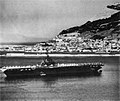 USS Randolph (CVA-15) at Gibraltar, circa in July 1957.jpg