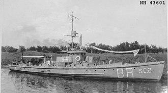 Hodgdon Yachts - SC 2 submarine chaser