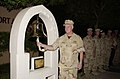 "US Navy 020704-N-2227W-001 ""Let Freedom Ring"" ceremony held in Bahrain during the 4th of July ceremony.jpg"