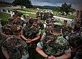 US Navy 071012-N-7367K-020 U.S. Naval Mobile Construction Battalion (NMCB) 4 prepares to turn over Camp Covington to NMCB-1, top, on board Naval Base Guam.jpg