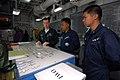 US Navy 080224-N-6936D-008 Lt. j.g. John Phelan shows Philippine navy officers flight deck control on the forward-deployed amphibious assault ship USS Essex (LHD 2).jpg