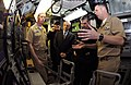 US Navy 090224-N-7705S-046 Cmdr. Tyler Meador, right, describes sonar room operations to Vice Adm. Georgios Karamalikis, Chief of Hellenic (Greek) Navy General Staff.jpg