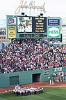 Scouts at Fenway Park