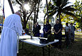US Navy 100130-N-7948C-006 Service members attend a Catholic Mass at the Killick Haitian Coast Guard Base.jpg