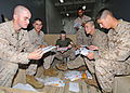 US Navy 100213-N-1082Z-048 Marines sort mail aboard the amphibious dock landing ship USS Ashland (LSD 48).jpg