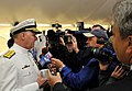 US Navy 110507-N-ZB612-224 Chief of Naval Operations (CNO) Adm. Gary Roughead speaks with media.jpg