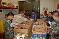 US Navy 111019-N-YW409-014 Sailors assigned to Navy Operational Support Center El Paso sort canned foods at the West Texas Food Bank during El Paso.jpg