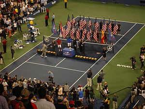 2011 US Open – Men's Singles - The final's trophy presentation