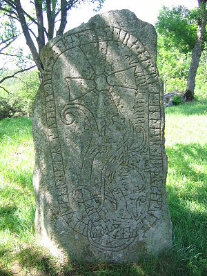 Greece runestones - Runestone U 73
