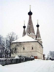 iglesia de la dormicin del monasterio de uglich un buen ejemplo de cubierta carpada