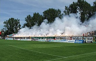Śląsk Wrocław - Śląsk fans 2003