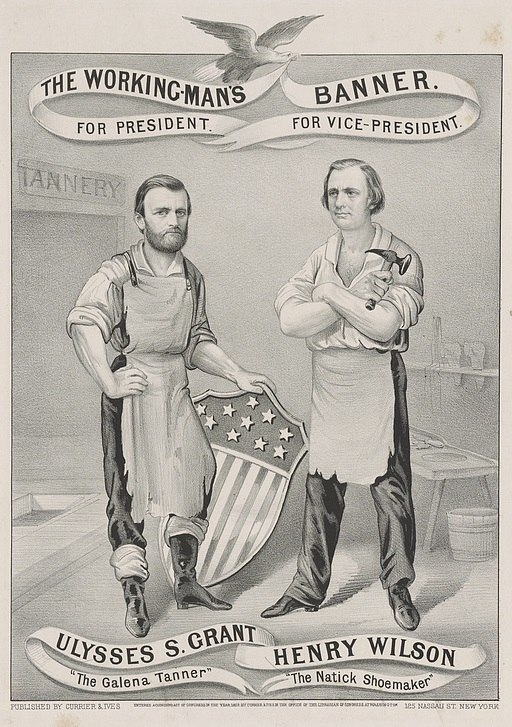 Ulysses Grant Henry Wilson campaign poster 1872