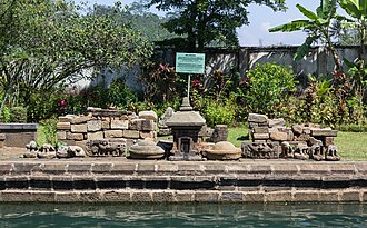 Umbul Temple - Stones at the temple