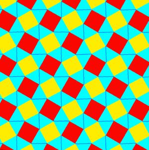 Snub square tiling - Image: Uniform tiling 44 snub