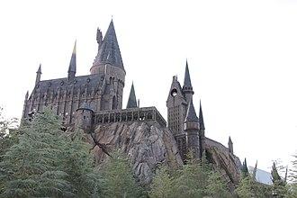 Hogwarts - Replica of Hogwarts at Universal Studio's Islands of Adventure amusement park