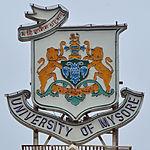 University of Mysore crest