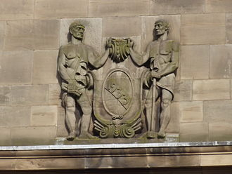 University of Wolverhampton - Wolverhampton University - sculpture - 1933