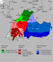Upper German Languages