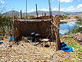 Uros kitchen, lake Titicaca, Peru.jpg