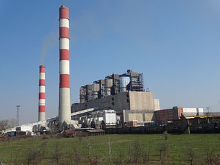 power plant in Serbia