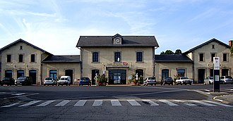 Gare d'Ussel - Image: Ussel gare