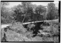 VIEW FROM NORTHWEST - Mill Creek Bridge, Mill Creek, Alton, Crawford County, IN HAER IND,13-ALT.V,1-1.tif