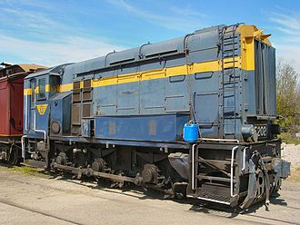 Operation Phoenix (railway) - F class diesel shunting locomotive