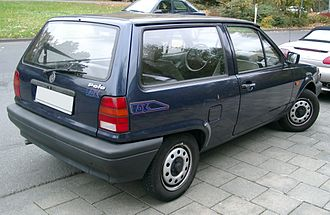Volkswagen Polo - 1990 Volkswagen Polo Mk2 facelift rear