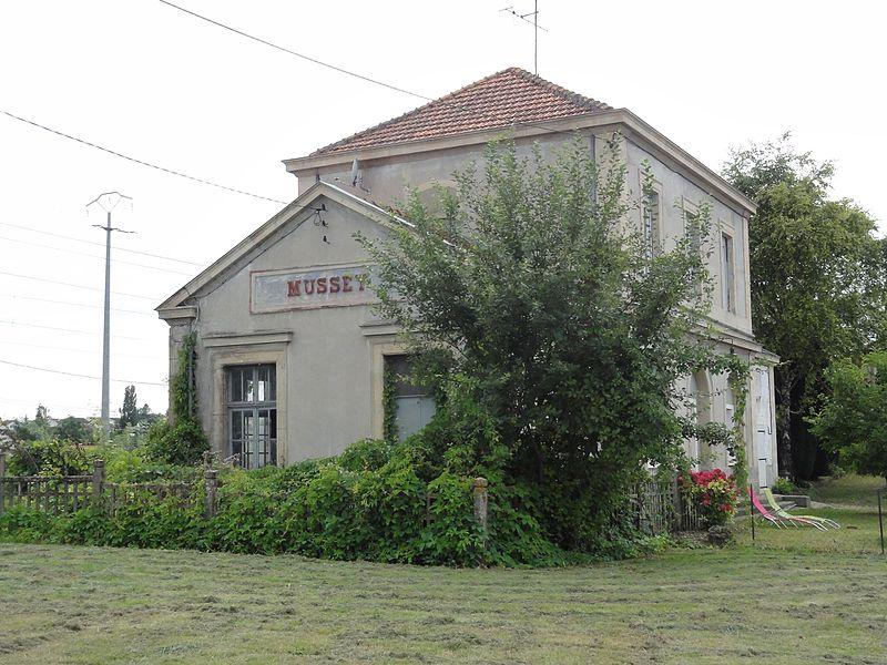 Val-d'Ornain (Meuse) gare de Mussey