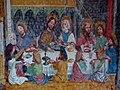 Valdaora di Mezzo-Mitterolang, San Egidio, frescos last supper 002.JPG