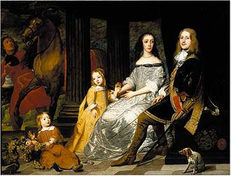 Pieter Thijs - Portrait of the Van de Werve Family