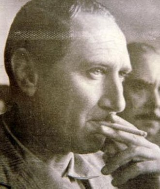 """1965 Argentine legislative election - Augusto Vandor, whose strategic skill and call for """"Peronism without Perón"""" allowed the UP to benefit from Illia's policy of Peronist inclusion."""
