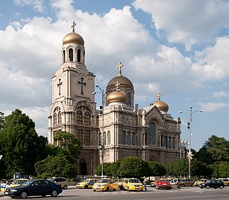 Dormition of the Mother of God Cathedral, Varna - The Dormition of the Mother of God Cathedral