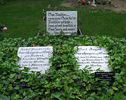 The grave of Rahel Varnhagen in Berlin (Source: Wikimedia)