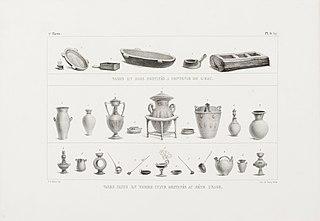 Vases en bois destinés a contenir l´eau