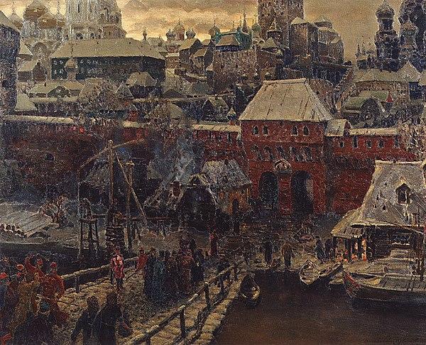 Ворота в москву 17 века металические ворота краснодар