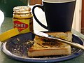 Vegemite on toast and a cup of coffee.jpg