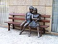 Veleslavínova, Tajemná lavička.jpg