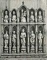 Venezia chiesa di S Maria dei Frari altare in marmo.jpg