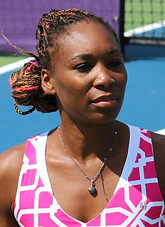 Venus Williams American professional tennis player
