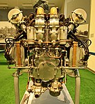 Verkehrsmuseum Dresden - Luftverkehr - Rolls Royce 12 Zylinder V Falcon III IMG 6819WI.jpg