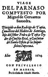 Frontispiece of the Viaje (1614) (Source: Wikimedia)