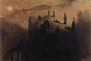La Légende des siècles - Illustration by Victor Hugo (1850)